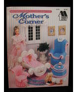 Annies Attic Mothers Corner Doll Furniture Crochet Patterns - $14.99