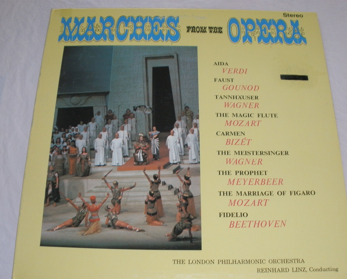 Marches from the opera lp