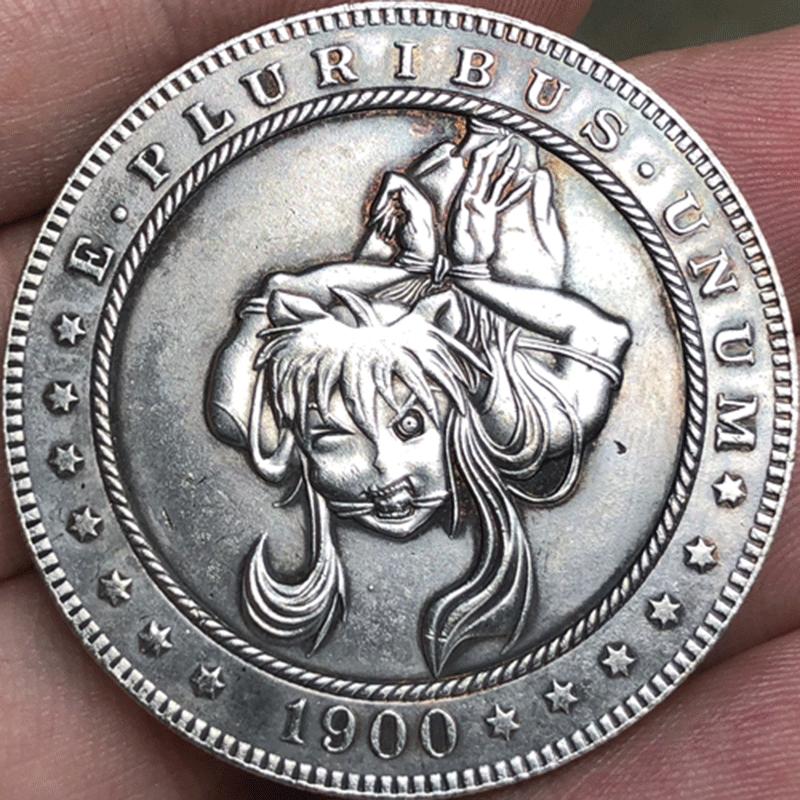 Hobo Nickel Coin 1900-CC Morgan Dollar Hobo and 50 similar items