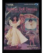 Fashion Barbie Doll Dresses Purse Hat Stole Crochet Patterns - $14.99