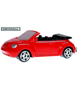 PORTE CLE RED VW NEW BEETLE BUG CONVERTIBLE COX KEY CHAIN - $24.98