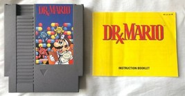 ☆ Dr. Mario & Manual (Nintendo 1990) AUTHENTIC NES Game Cart Tested & Wo... - $9.50