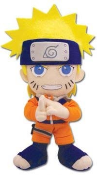Naruto: Naruto 9 Inch Tall Plush GE7035 NEW!