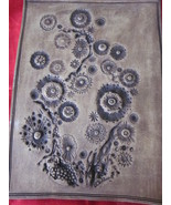 Tooled Leather Look Clay Wall Hanging  8 x 10 - $27.99