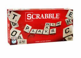 SCRABBLE BOARD GAME HASBRO BRAND NEW SHIPS VIA EXPEDITED SHIPPING - $21.77