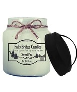 Sweet Pea Scented Jar Candle, 16-Ounce, Handle Lid - $11.00