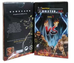 BATTLE MONSTER 4D CARD AUGMENTED REALITY FLASHCARD FOR KIDS - $9.80