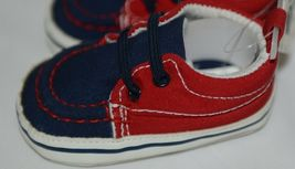 Baby Brand Red White Blue 309067 Pre Walker Infant Shoes 0 to 6 Months image 3