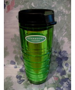 Starbucks Coffee Travel Mug Cup Metallic Green 2006 - $14.99