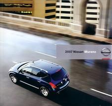 2007 Nissan MURANO sales brochure catalog US 07 S SL SE - $9.00