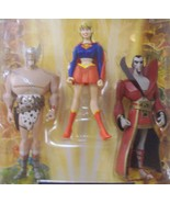 DC Universe Justice League Supergirl, Warlord, Deimos Fan Collection 3 p... - $35.00