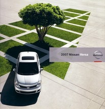 2007 Nissan VERSA sales brochure catalog US 07 1.8 S SL - $7.00