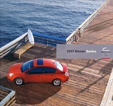 2007 Nissan SENTRA sales brochure catalog US 07 2.0 S SL - $7.00