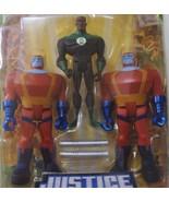 DC Universe Justice League Green Lantern & 2 Manhunter Robot - New - $25.00