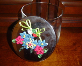 Keepsake Container,Handcrafted Paper Quill Hummingbird - $39.95