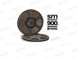"RTM SM900 BASF High Output Tape Plastic Reel 1/4"" 2500ft 762m Authorised... - $49.01"