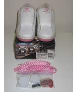 Heelys Bliss 2 White Pink Size 4 5 Skate Shoe Sneakers - $24.00