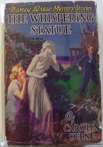 Nancy Drew The Whispering Statue 1st ed. no.14 1937A-1 Farah's value VG ... - $150.00