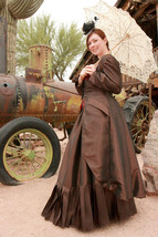 Purely Steampunk Bustle Gown - $395.00