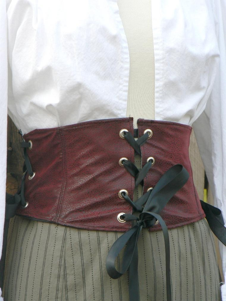 Primary image for Leather Waist Cincher Almost