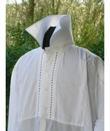 Men's Victorian Barber Shirt Sweeney Todd - $110.00
