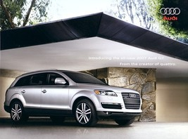 2007 Audi Q7 QUATTRO sales brochure catalog US 07 3.6 4.2 - $8.00