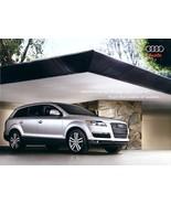 2007 Audi Q7 QUATTRO sales brochure catalog US 07 3.6 4.2 - $8.00