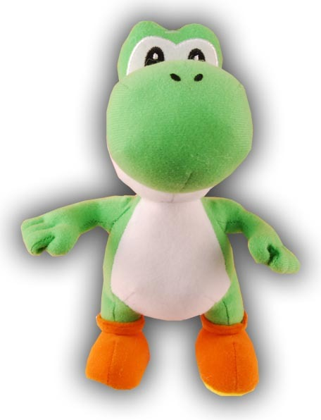 Super Mario Brothers Series 2: Yoshi 6 Inch Tall Plush NEW!