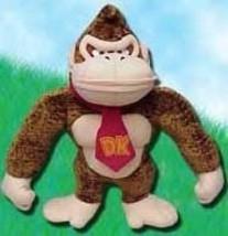Nintendo: Donkey Kong 16 Inch Tall Plush Brand NEW! - $29.95