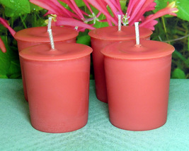 Honeysuckle PURE SOY Votives (Set of 4) - $7.00