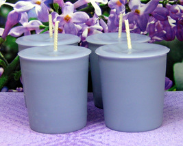 Lilac PURE SOY Votives (Set of 4) - $7.00