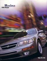 1999 Nissan MAXIMA sales brochure catalog US 99 GXE SE GLE - $8.00