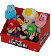 Super Mario Brother Set Mario, Luigi, toad & Yoshi Plush NEW - $89.95