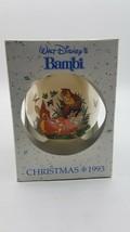 Schmid Collectors Gallery Walt Disney's Bambi 1993 Christmas Ornament - $10.84