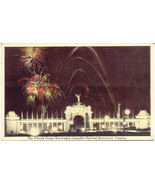 Canadian Exhibition Toronto Fireworks Display Souvenir Post Card - $6.00
