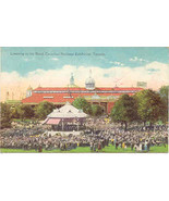 Canadian Exhibition Regimental Band Toronto Souvenir Post Card - $6.00