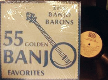 Banjo Barons - 55 Golden Banjo Favorites - Good Music Records GMR-80034