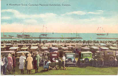 Canadian Exhibition Toronto Souvenir Post Card