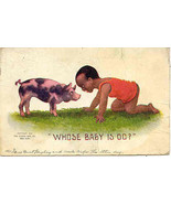 Whose Baby is Oo  1908 Post Card - $6.00
