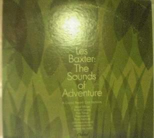 Les Baxter - The Sounds of Adventure - Capitol 90984 - 2 LP Set