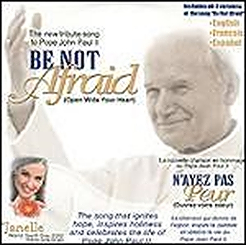 Be not afraid   single with enhanced cd by janelle