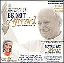 BE NOT AFRAID - SINGLE WITH ENHANCED CD by Janelle