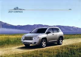 2008 Jeep COMPASS brochure catalog US 08 Sport Limited - $6.00
