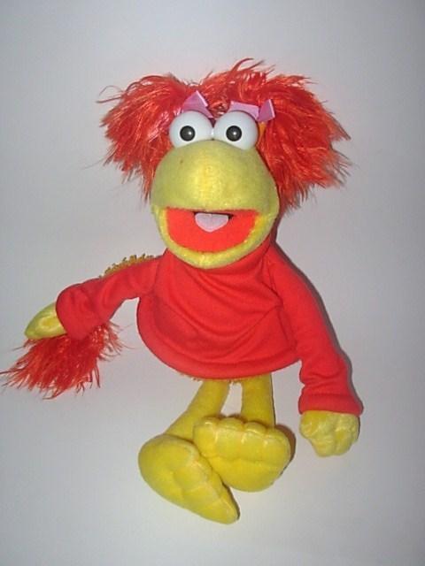 Fraggle Rock Red Plush Doll 2006 Sababa Toys Muppet ...