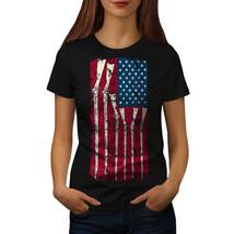 Gun Flag America Cool USA Shirt America Women T-shirt - $12.99