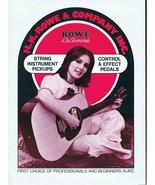 ORIGINAL Vintage 1970s HR Rowe & Company String Instrument Catalog - $29.69