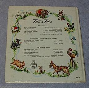 Children's Classic Tell A Tale Book Little Red Riding Hood