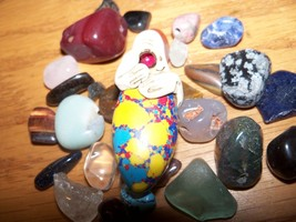 HAUNTED king AIR YELLOW remote viweing power amulet - $23.29
