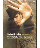 David Bisbal Premonicion Cd & Dvd Special Edition Bonus Remix Tracks Sea... - $19.99