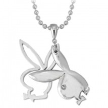 Playboy Silouette Charm Necklace - $10.95